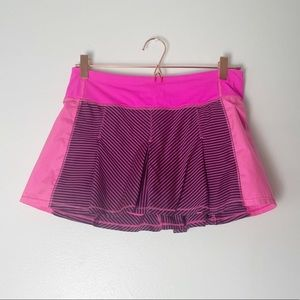 LuluLemon Barbie Pink Tennis Workout Skirt